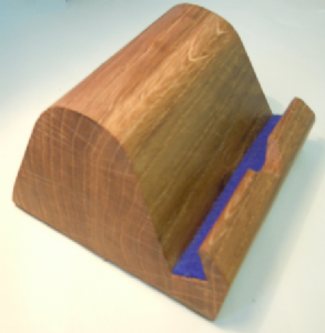 iPad or tablet PC stand - BLUE lined